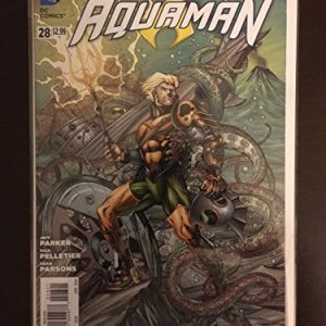 Aquaman 2014 #28 Steampunk 1:25 Variant DC Comic Book Incentive. NM Condition