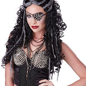 California Costumes Women's Dreadful Wig Punk Rock Steampunk Apocalypse