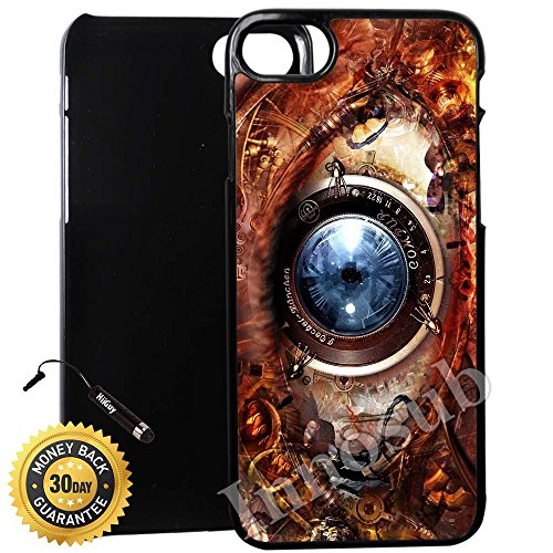 sports shoes eb601 7a442 Custom-iPhone-8-Plus-Case-Steampunk-Eye-of-Knowledge-and-Power-Edge ...