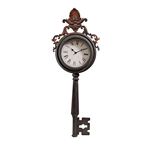 Design Toscano Unlocking Time Key Wall Clock