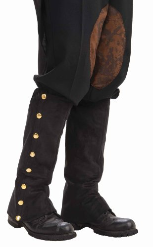 Forum Novelties Men's Adult Steampunk Suede Spats Costume Accessory