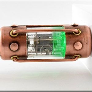 Handmade 8/16/32/64/128GB GREEN ARC Pentode Radio Tube USB Flash Drive. Steampunk/Industrial style ####### (Tags: Stick Thumb Pen Key Drive Storage Memory Disk. Metal Handwork Handcraft Exclusive Unique Best Cool Great Retro Vintage Gadget Device. Idea for Christmas New Year Birthday Present Gift. For Geek Man Him Dad Boy Teen. For Computer Tablet PC Notebook Laptop Mac)