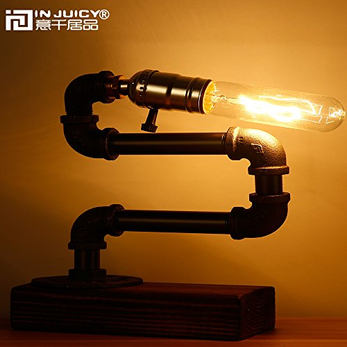 Vintage Industrial Steampunk Water Pipe Lamp Steampunk Ages