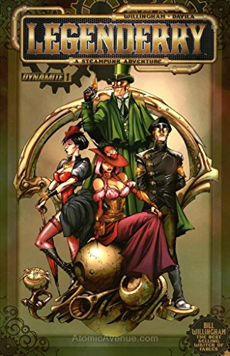 Legenderry: A Steampunk Adventure (Vol. 1) #1 VF/NM ; Dynamite comic book