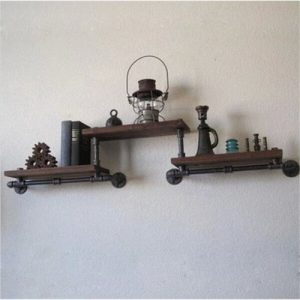 LightInTheBox Loft Innovative Design DIY Book Shelves Retro Style Old Industrial Pipes Shelf Bookcase Shelves-Z29