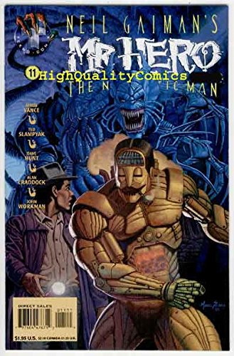 MR HERO #10 11 12, NM, Neil Gaiman's, Robot,Newmatic Man,Steampunk,more in store