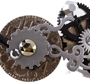 Forum Novelties Unisex-Adults Steampunk Barrette, Multi, One Size