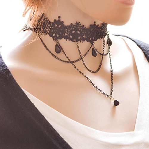 sinfu chokers necklace for women steampunk ages. Black Bedroom Furniture Sets. Home Design Ideas