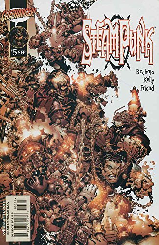 Steampunk #5 VF/NM ; WildStorm comic book