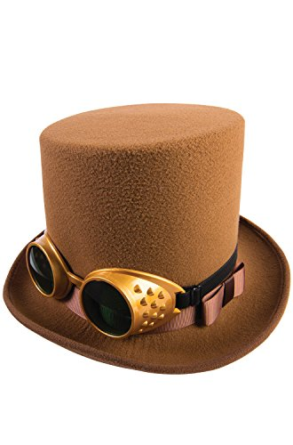 Forum Novelties Steampunk Deluxe Hat and Goggles