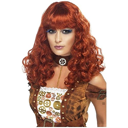 Steampunk Female Wig Costume Accessory Adult Halloween