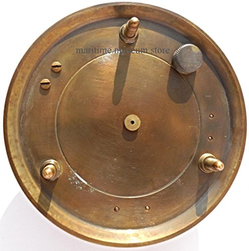 MAH Steampunk for Solid brass Sundial Compass in fitted Wooden Box. C-3052
