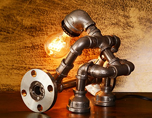 Industrial Style Desk Bedside Lamp Steampunk Ages