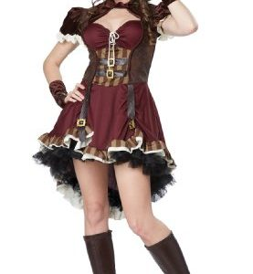 California Costumes Women's Steampunk Girl Costume