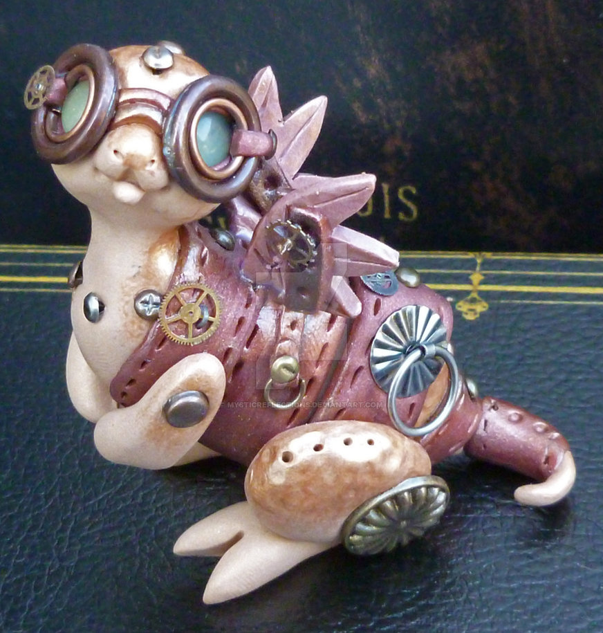 Hand Polymer clay sculptures by MysticReflections