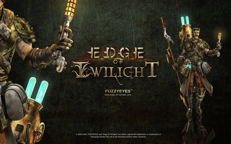 Male Concept art for the game Edge of Twilight