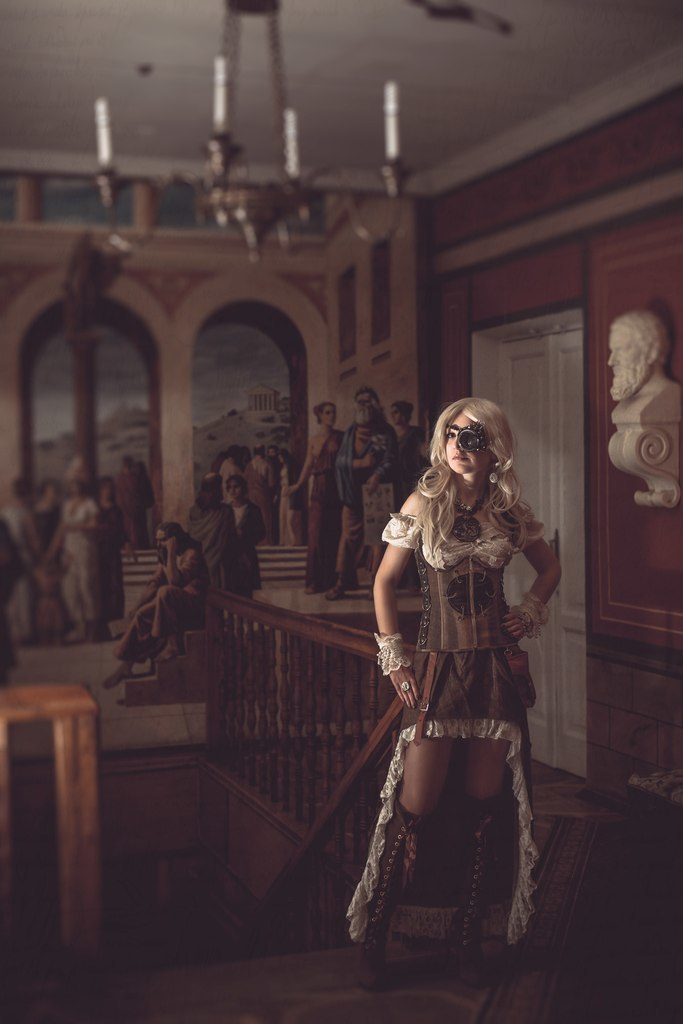 Steampunk style photography