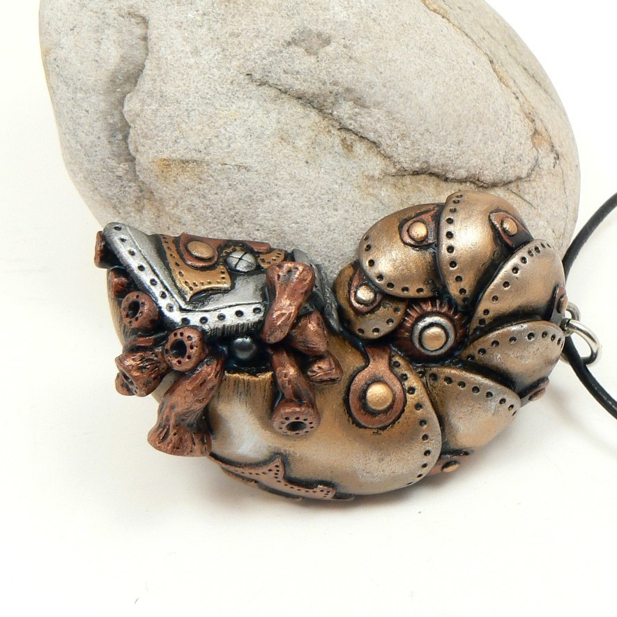 Products from polymer clay and modding in the style of steampunk