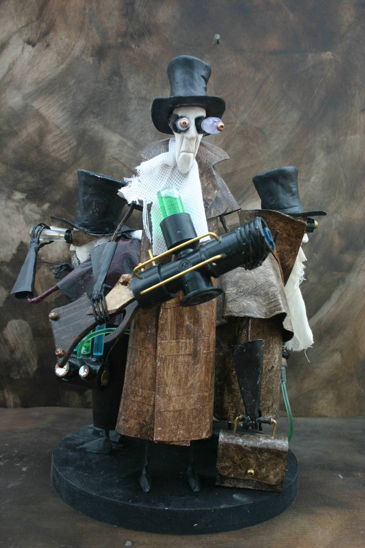 Steampunk works by Pete Simpson