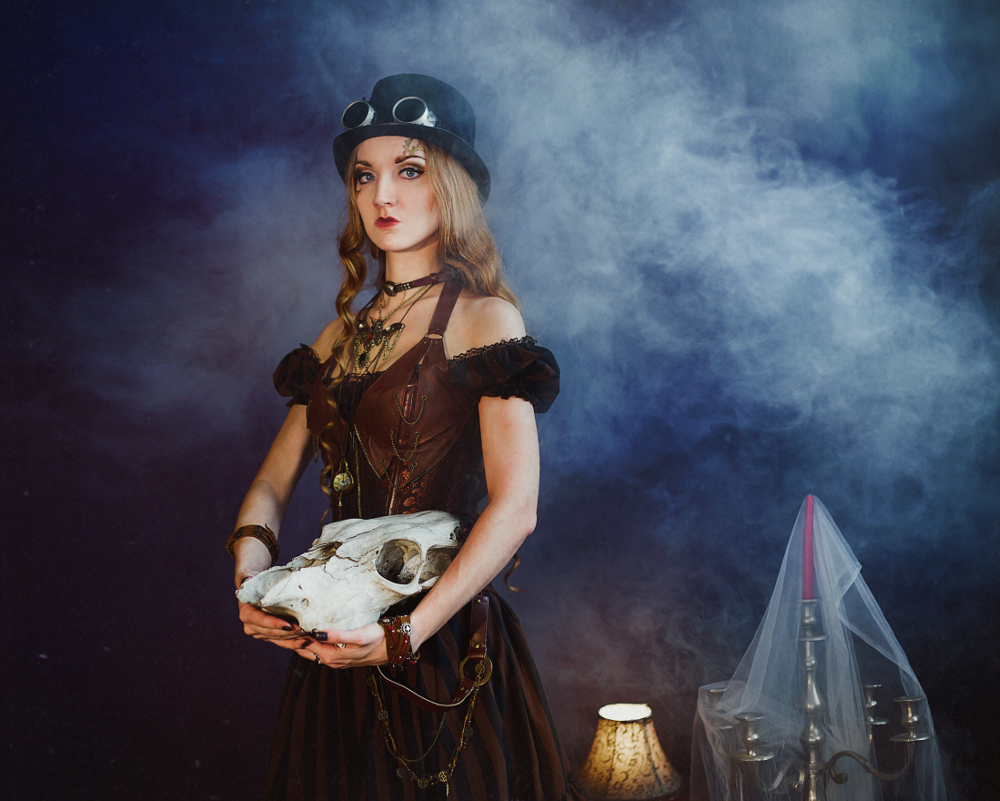 Russian steampunk style by Olga Chizh