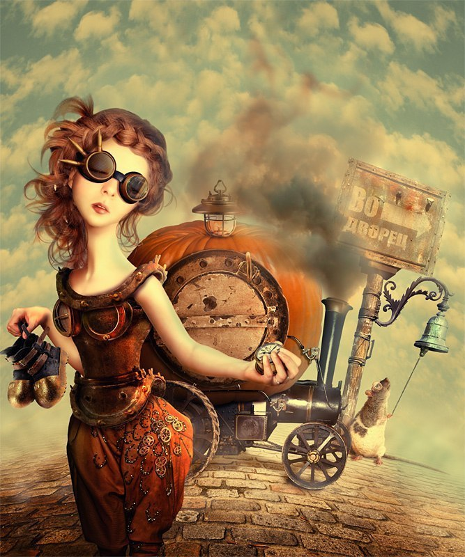 steampunk art russian