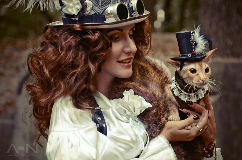 Russian steampunk style photos