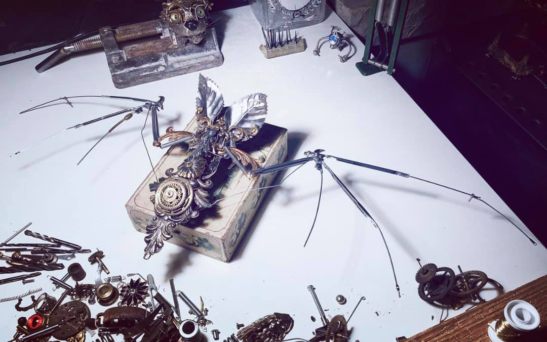 Steampunk style craft by Manuel Soppelsa