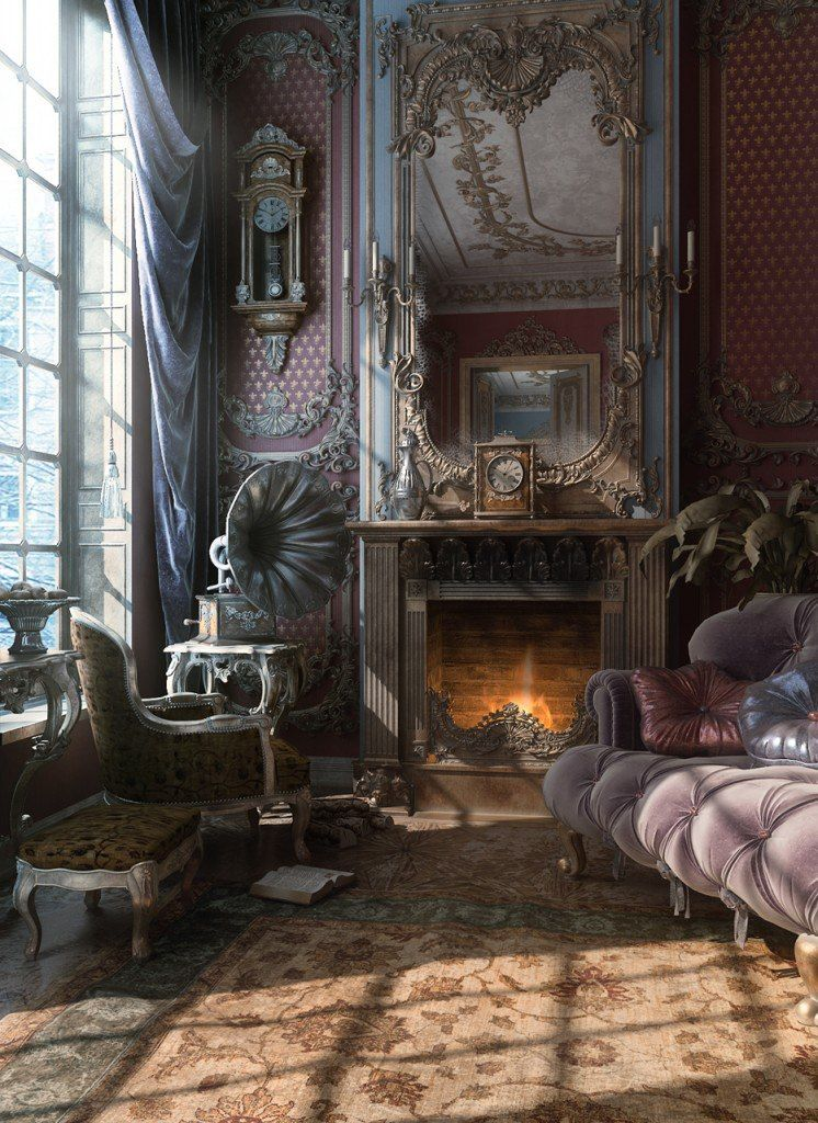 3D Interior Design Renderings by Vladimir Kuzmin