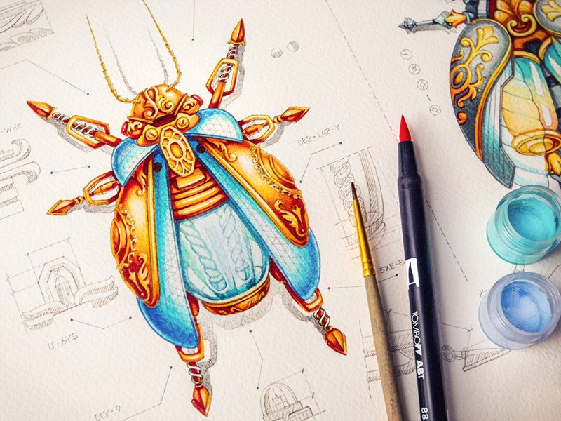 Creative Steampunk Watercolor by Creative Mints