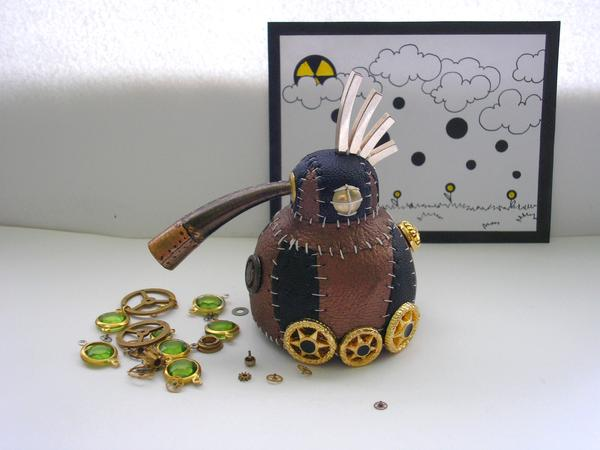 Steampunk style crafts by Anna Freimane