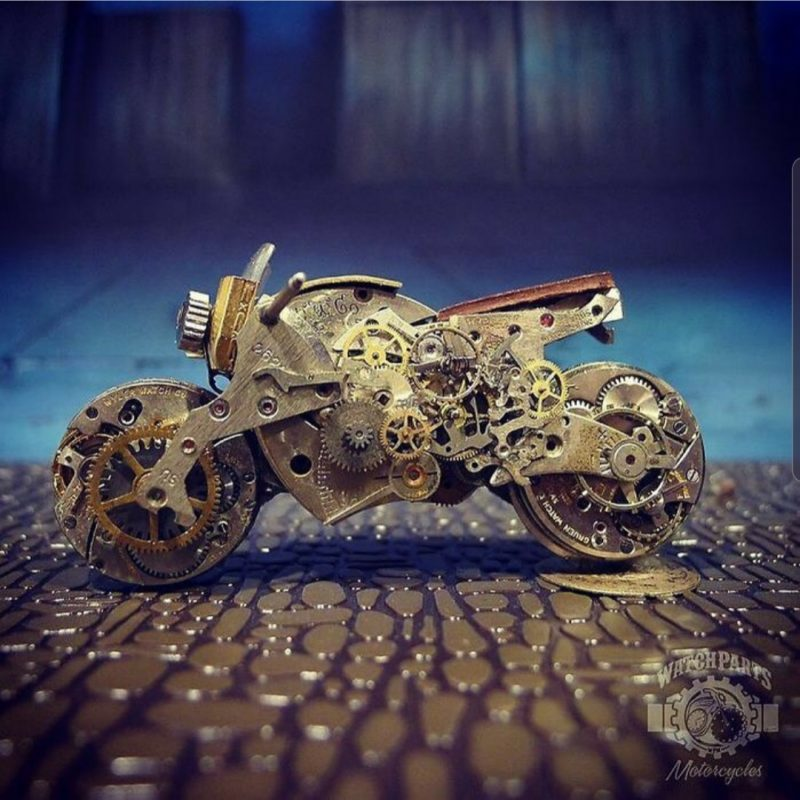 Steampunk style craft by artist Dan Tanenbaum