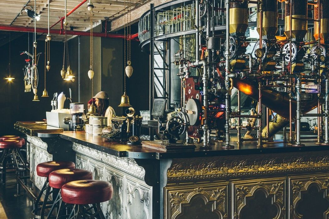 Interiors Of Truth Coffee Shop in Cape Town, South Africa