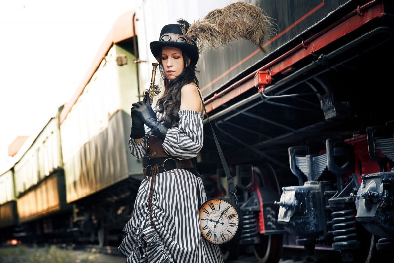Steampunk style photos by Evgenia Ovcharenko