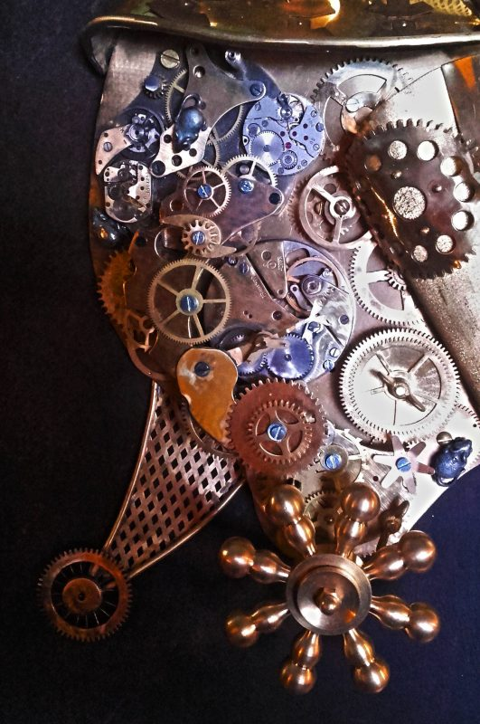 Steampunk style crafts by Katanada studio