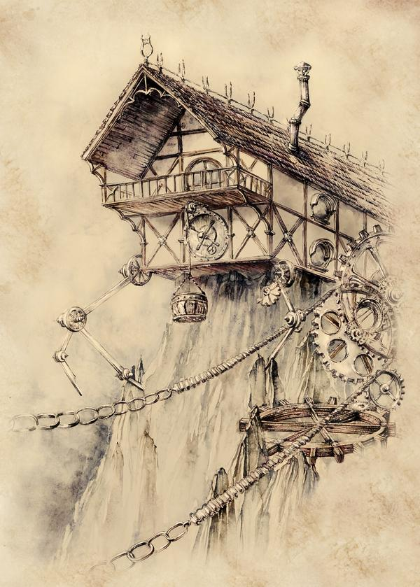 Steampunk arts by Elwira Pawlikowska @GrimDreamArt